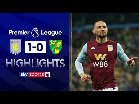 Hourihane goal gives Villa first win in six | Aston Villa 1-0 Norwich | Premier League Highlights