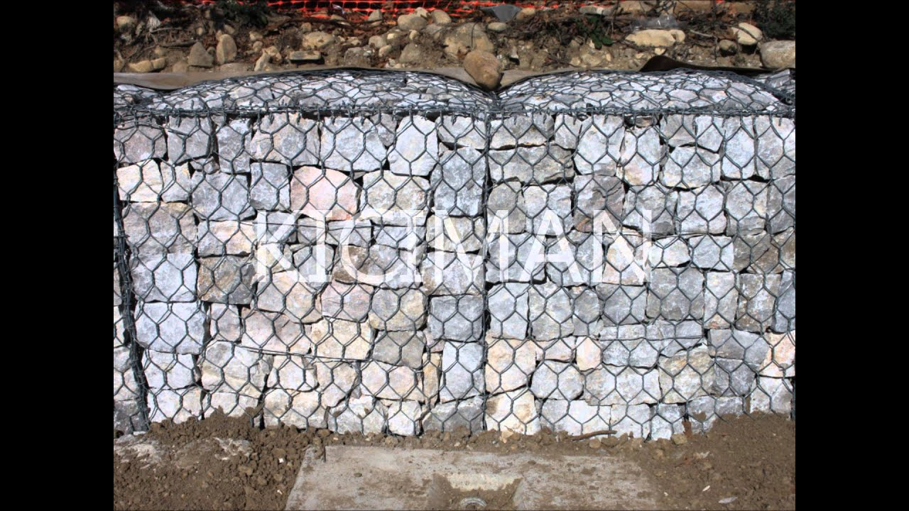 Kıcıman Gabion TURKEY - YouTube
