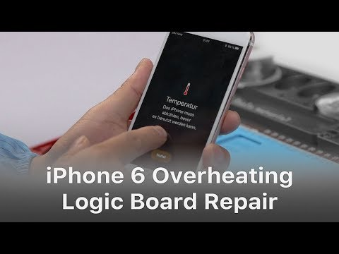 iPhone 6s Overheating And Getting Hot Issue Fix – Exclusive Logic Board Repair