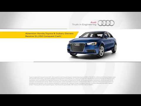 Fathers And Sons Audi >> Father Sons Audi Get An Additional 1 250 In Conquest Cash