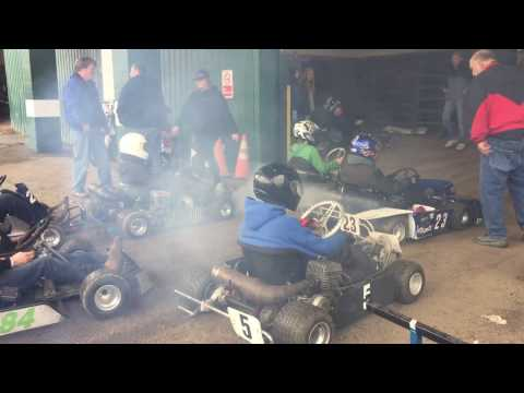 Dirt Track Kart Racing from the Pits Washington