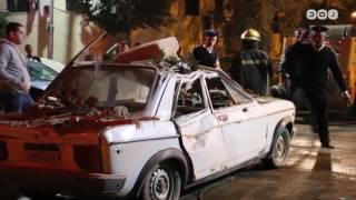 رصد | انهيار عقار سكني بمنطقة جاردن سيتي بالقاهرة