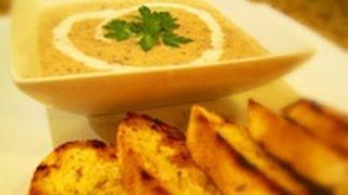 Mushroom And Tarragon Soup Recipe
