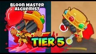 Bloons TD 6 - MASTER ALCHEMIST - 5TH TIER ALCHEMIST