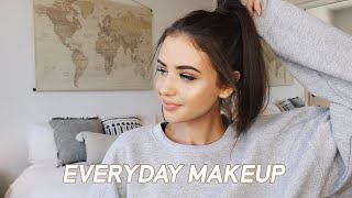 MY EVERYDAY MAKEUP 2018 :)