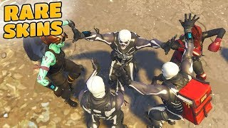 RARE SKIN LOBBY (Fortnite Battle Royale) Ghoul Trooper + Skull Trooper + Red Knight!
