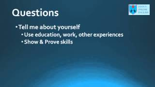 Business English Course - English Job Interview