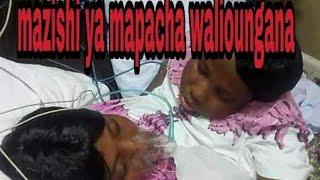 Mazishi ya mapacha walioungana Maria na Consolata.