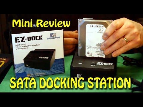 SATA Hard Drive Docking Station - Mini Review