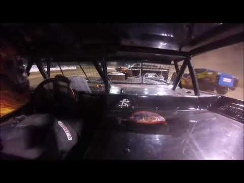 Brett McDonald B-Feature Mercer Raceway Park 10/7/17 IN-CAR