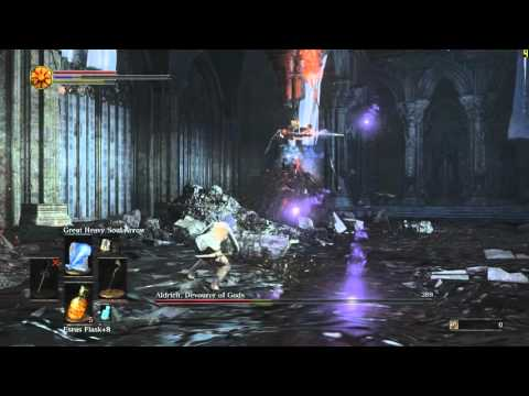 [Dark Souls 3] Pure Sorcerer vs Aldrich (Lv72, 9 Vit, 65 Int)