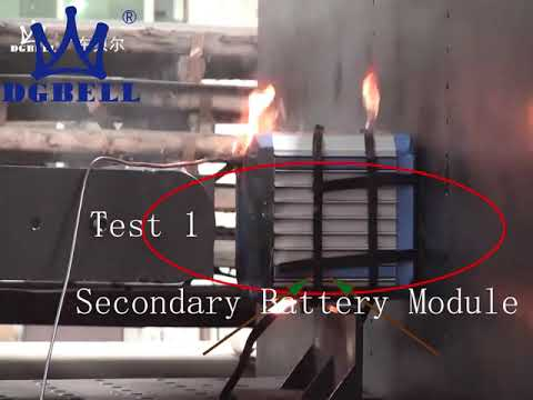 Horizontal Vertical Battery Crush Nail Penetration Test ...