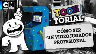 Cómo ser un videojugador profesional | Toontorial | Cartoon Network