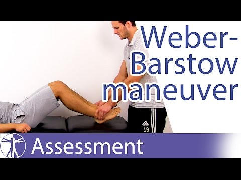 Weber-Barstow Maneuver⎟Functional Leg Length Difference