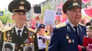 Бессмертный полк в Ивантеевке 9 мая 2019 г.