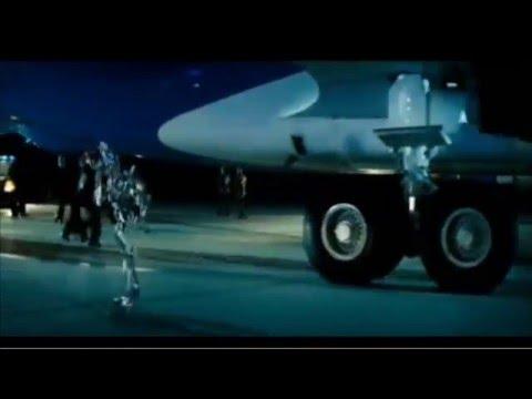 Decepticon En El Air Force One - Transformers 1 - Español Latino.