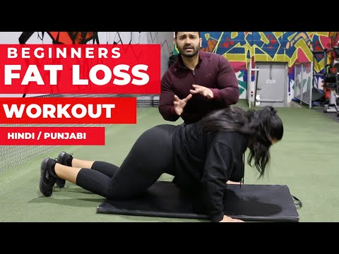 Beginners FAT LOSS HOME Exercises! (Hindi / Punjabi)