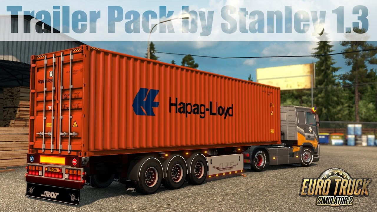 Ets2 Trailer Pack By Stanley 1 3 Youtube