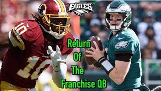 Carson Wentz Can Find Hope In RG3'S Return From Injury!!! Going To The Movies To See The Avengers!!!