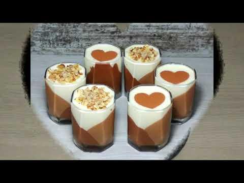 Три шоколада. Десерт в стакане. Мусс. Видео рецепт. English Subtitles