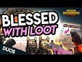 BLESSED WITH LOOT! CAN'T LOSE! PUBG Mobile