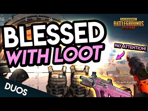 BLESSED WITH LOOT! CAN\'T LOSE! PUBG Mobile