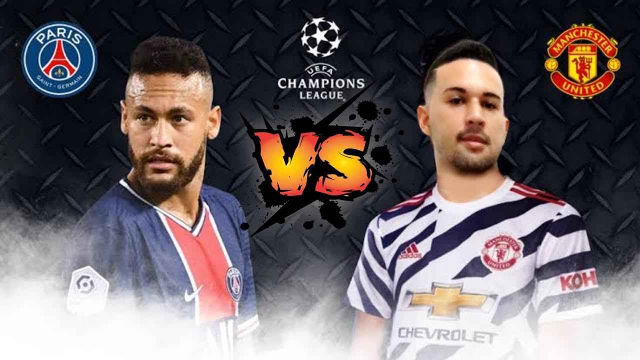 FIFA 22 AQUECIMENTO,UEFA CHAMPIONS LEAGUE PSG VS MANCHESTER UNITED