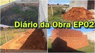 ATERRO    CINTURÃO DA BASE     DIÁRIO DA OBRA EP02    CANAL DO ED    #52   