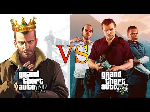 Why GTA IV is better than GTA V? (10 Reasons)