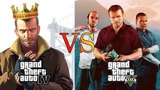 Why GTA IV is better than GTA V? (10 Reasons)