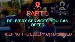Starting your own delivery services: HelpingThe Elderly or Disabled