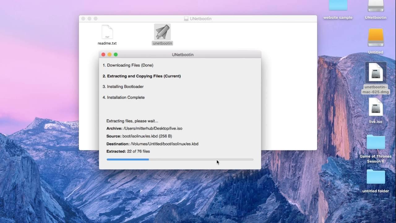 make bootable iso usb mac