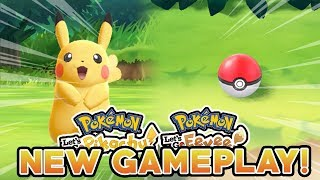 POKEMON LET'S GO PIKACHU & LET'S GO EEVEE NEW GAMEPLAY! CATCHING YOUR STARTER POKEMON!