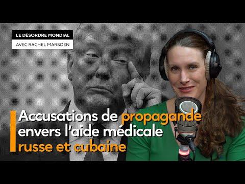Accusations de propagande envers l'aide médicale russe et cubaine