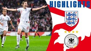England 1-2 Germany | White Scores as Germany Win Late At Wembley | Official Highlights | Lionesses