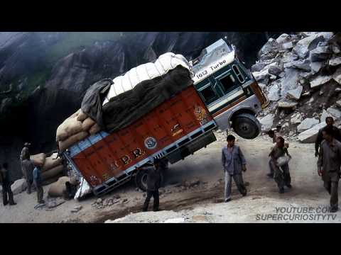 The 20 Most Dangerous and Scariest Roads in the World!!!! The Most Incredible and Craziest!!!!