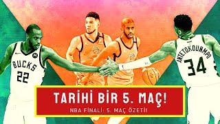 MAÇIN ARDINDAN: Suns - Bucks ÖZET! ÇILGIN SON! Jrue, Giannis, Middleton, Booker, Chris Paul