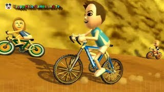 Wii Sports Resort - Cycling Road Race - Around The Island 4 - Happy Kids Games And Tv