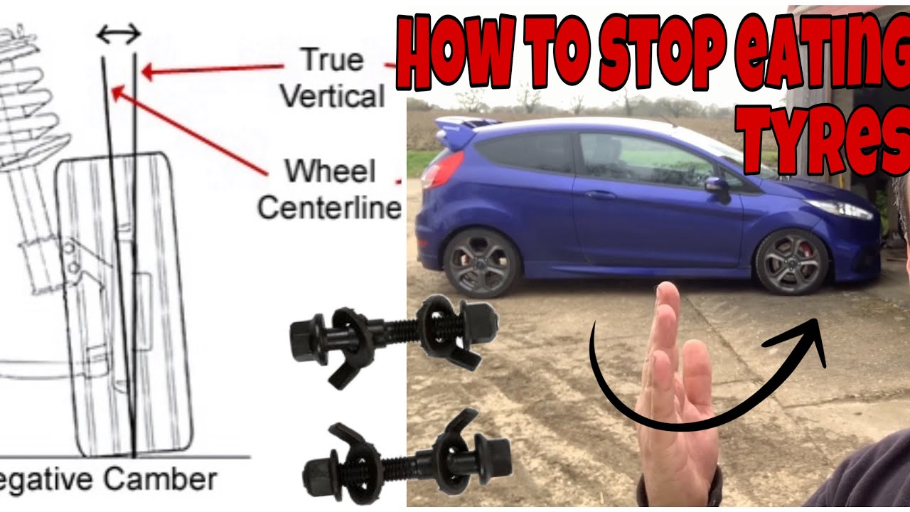 How To Adjust Camber On a Car Using Camber Bolts - Fiesta ...
