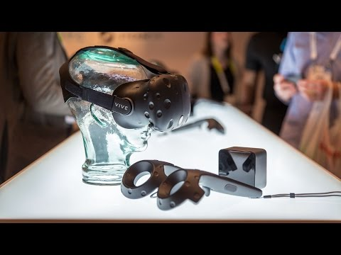 Hands-On with HTC Vive Pre Developer Kit VR Headset