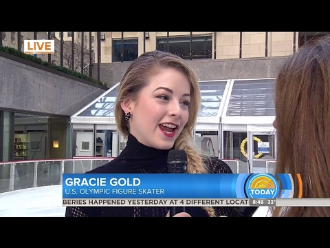 Gracie Gold Performance on Today Show 2-8-17