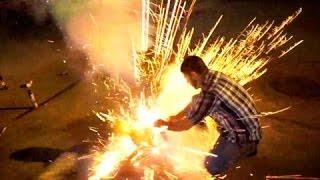 CRAZY FIREWORK FAILS | Bruhitszach