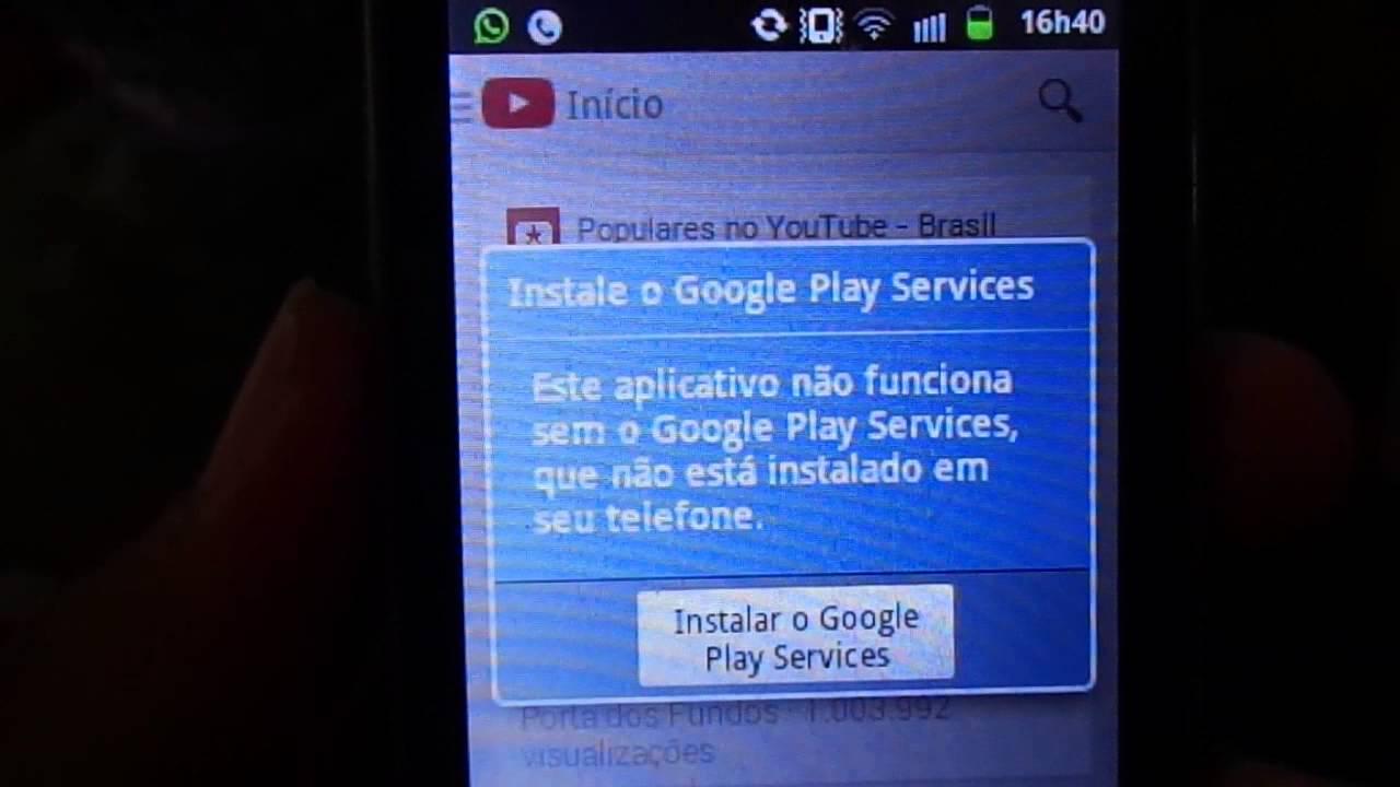 google play services descargar para android 2.3.6