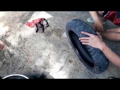 Tips and trik ganti ban pake alat manual tyre changer