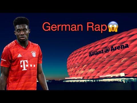 Alphonso Davies hears german rap ??