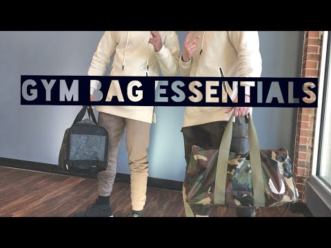 Gym Bag Essentials || MUST HAVES FOR MEN AND WOMEN