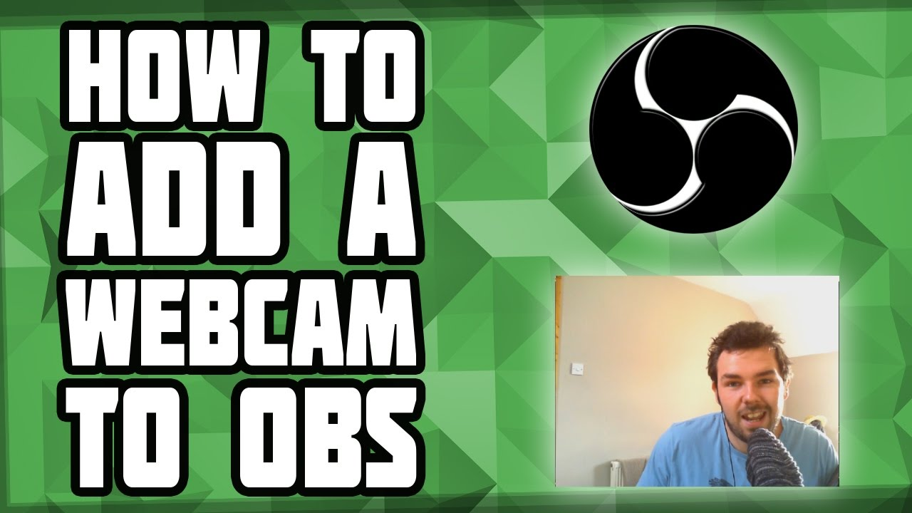 How To Connect Webcam To Obs