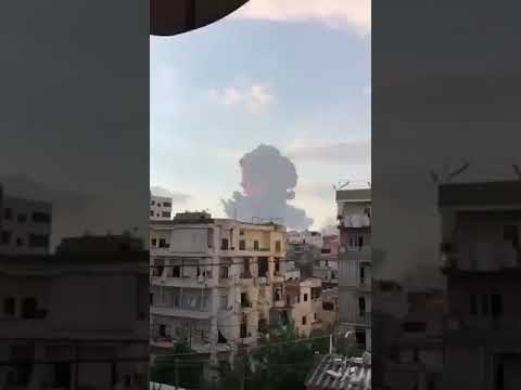 Download Massive Eplosion in Beirut, Lebanon
