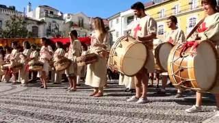 Tocándar á feira medieval de Leiria