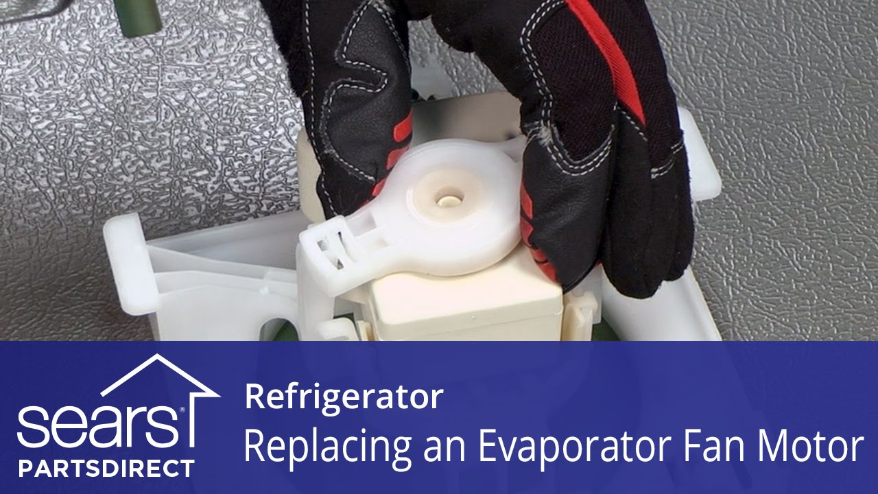 How to Replace a Refrigerator Evaporator Fan Motor Ice Maker Wiring Diagram For on